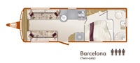 Unicorn Barcelona Floorplan