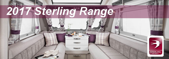 New 2017 Sterling Touring Caravan Range